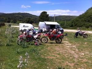 Hébergement Corse rando moto enduro2