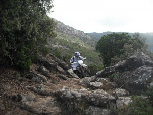Rando Corse 2011 moto enduro 2