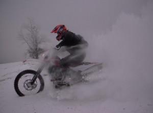 Rando moto enduro beaujolais neige 4